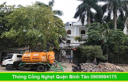 Cam kết hút hầm cầu không đục phá Quận Bình Tân không gây mùi hôi.