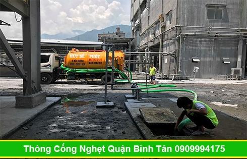 Cam kết nhận hút hầm cầu tại Quận Bình Tân nhanh sạch 99%