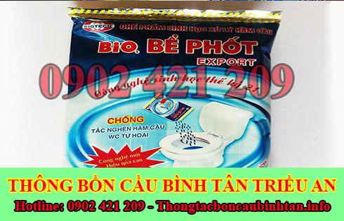 Bán bột thông bồn cầu Quận Bình Tân giá rẻ 0902421209