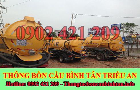 Số điện thoại hút hầm cầu Quận Bình Tân giá rẻ 0902 421 209