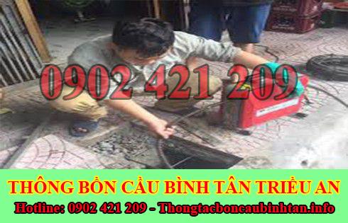 Số điện thoại thông cống nghẹt Quận Bình Tân giá rẻ 0902 421 209