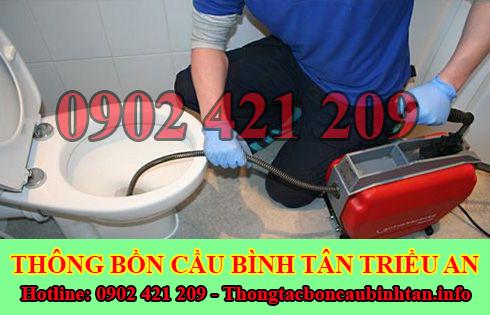 Thợ sửa bồn cầu nhà vệ sinh bị nghẹt tại Quận Bình Tân uy tín.