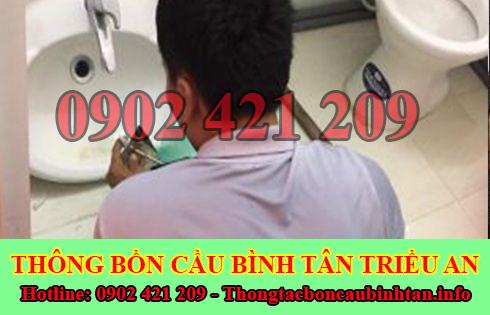 Thợ sửa bồn rửa chén bát Quận Bình Tân tại nhà 0903737957