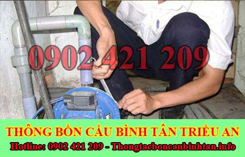 Thợ sửa chữa điện nước Quận Bình Tân tại nhà 0902421209