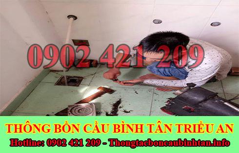 Thông cầu cống nghẹt quận Bình Tân bằng móc phơi quần áo