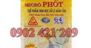 Bột thông tắc bồn cầu Microphot có cách sử dụng ra sao?