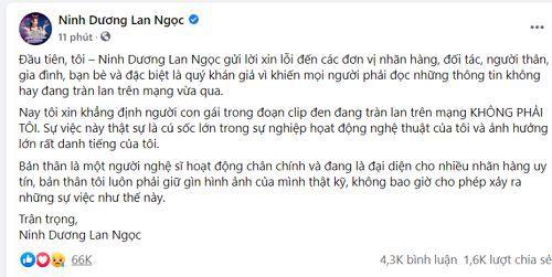 Ninh Dương Lan Ngọc lộ clip nóng